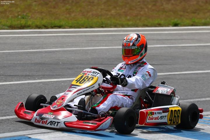 Mariano Pires vai arrancar da 15.ª posição na Final do Mundial Rotax DD2
