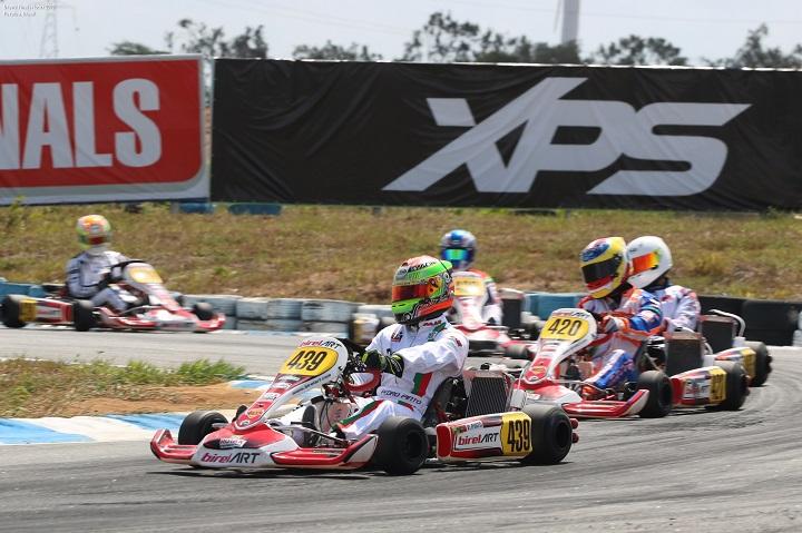Treinos cronometrados condicionaram Pedro Pinto no Mundial Rotax da DD2