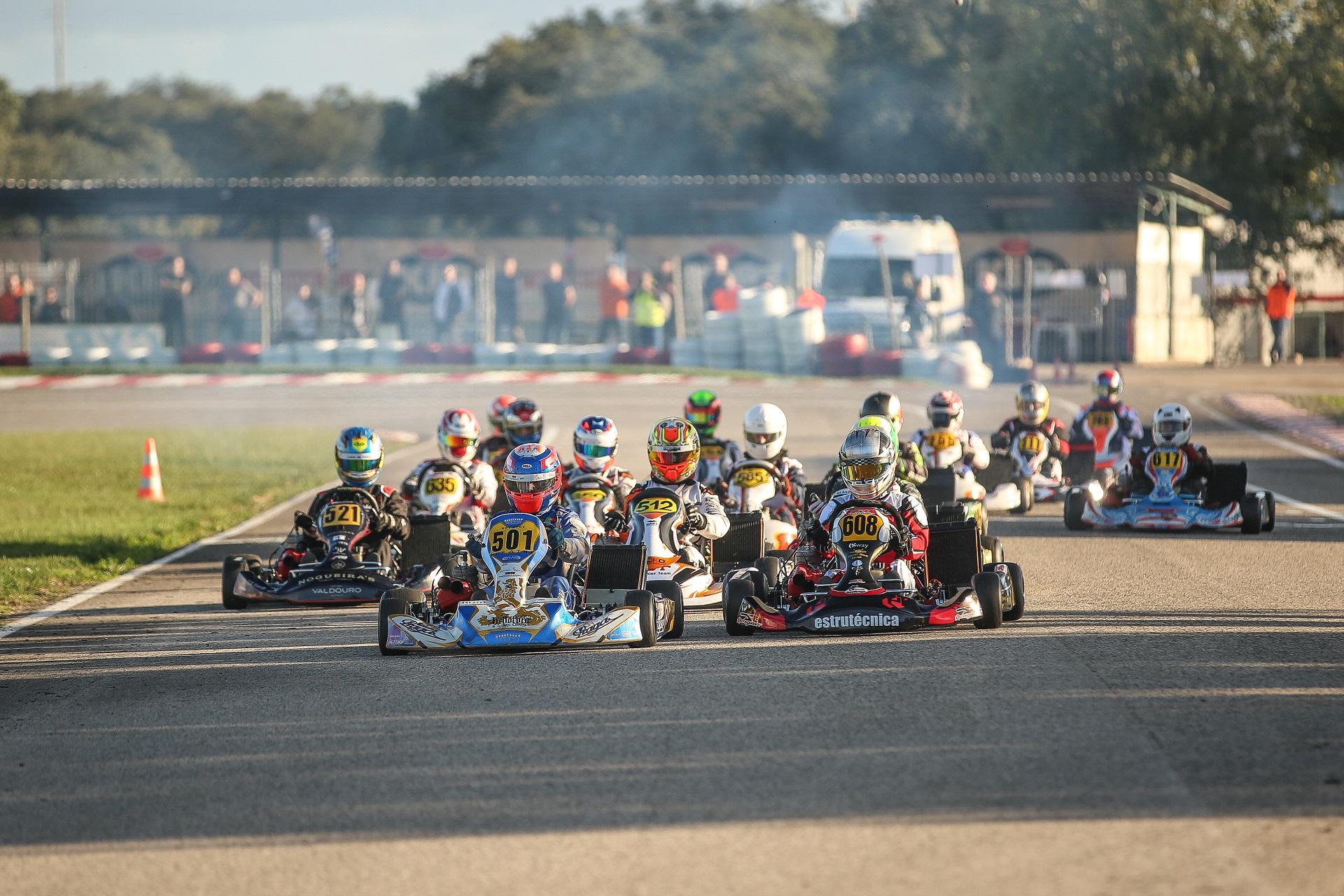 Ferreira, Lázaro e Fernandes vencem Taça de Portugal de Karting na X30 Super Shifter