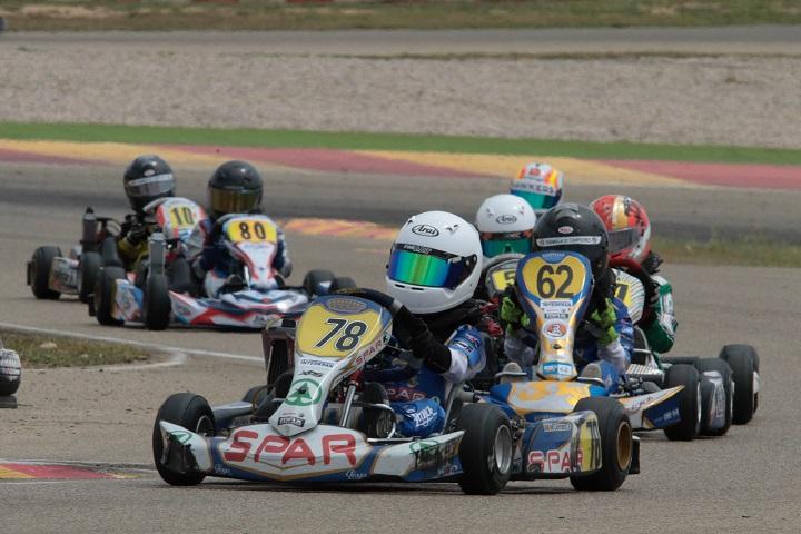 Maria Germano Neto muito rápida nas Series Rotax Espanha da Micro-Max