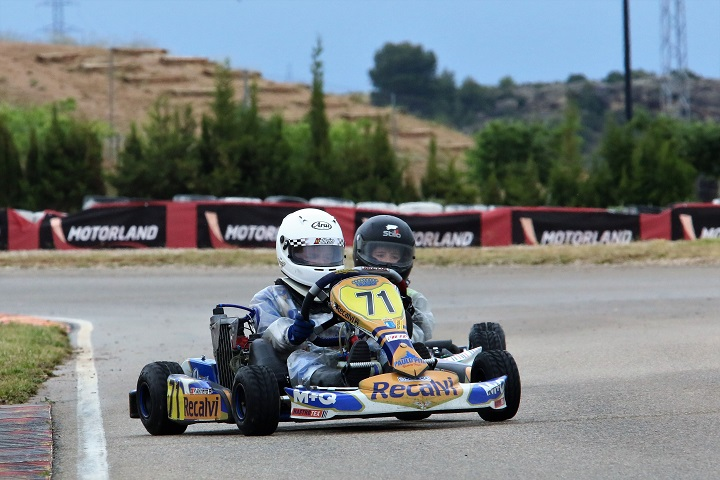 Adrian Malheiro conserva liderança nas Series Rotax Espanha Micro-Max