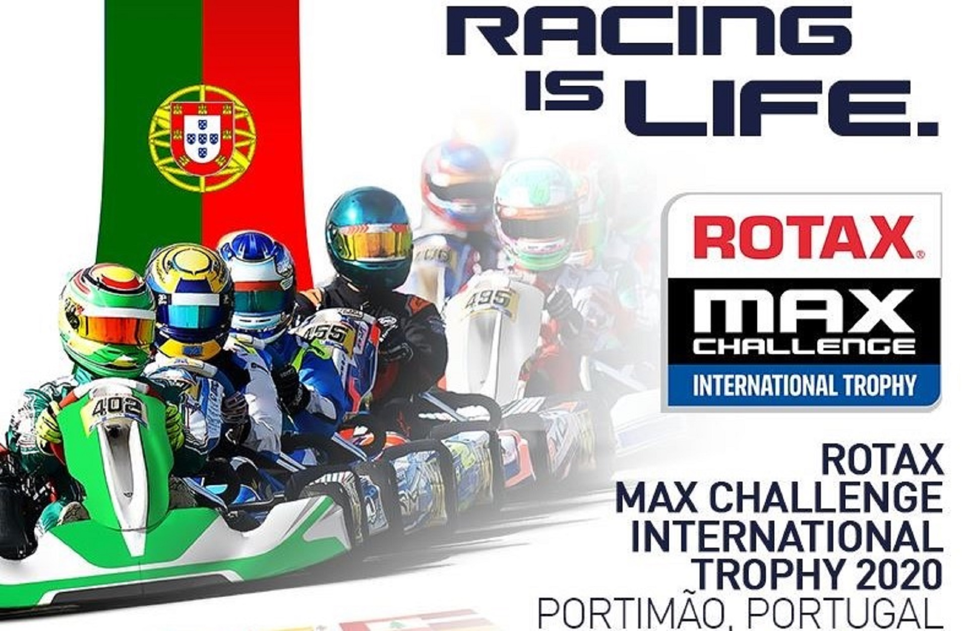 2.º Troféu Internacional Rotax que se realizará em Portimão já tem quase 300 inscritos