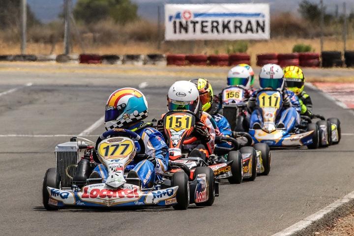 Adrián Malheiro reforça comando nas Series Rotax Espanha Mini-Max