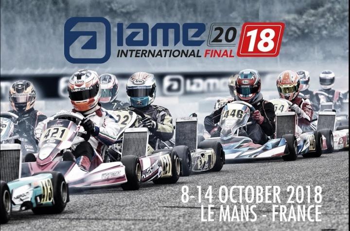 Portugal presente em duas categorias nas Finais Internacionais Iame em Le Mans