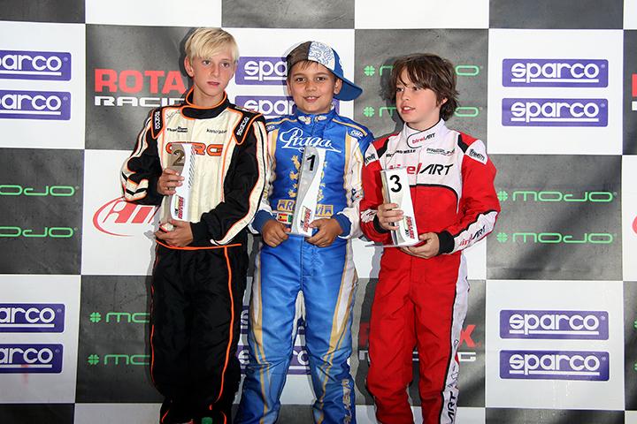 Adrian Malheiro mantém liderança nas Series Rotax Espanha da categoria Micro-Max