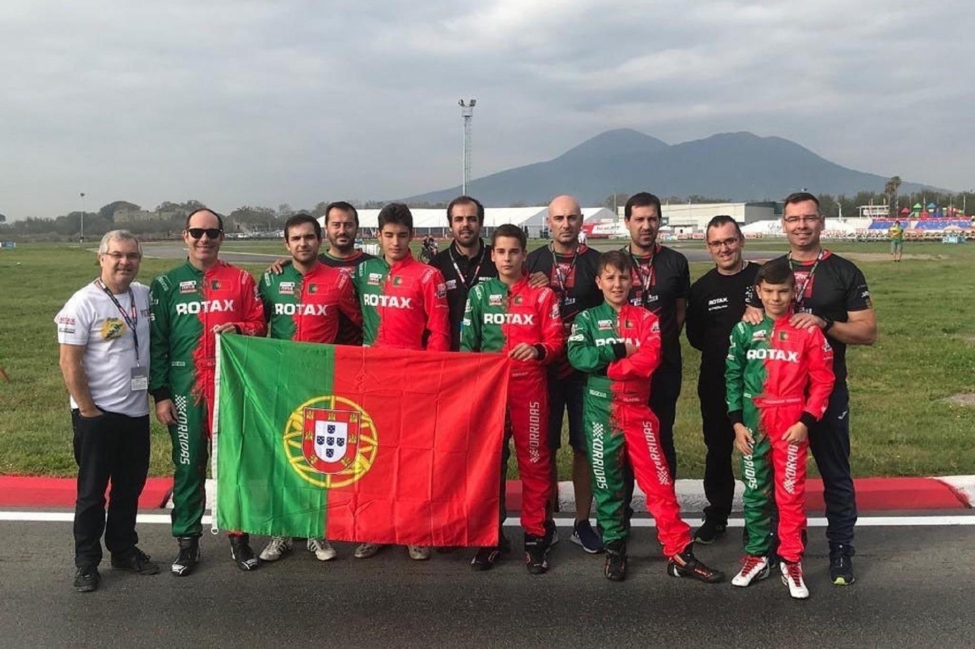 Seis portugueses disputam esta semana o Mundial de Karting Rotax em Itália