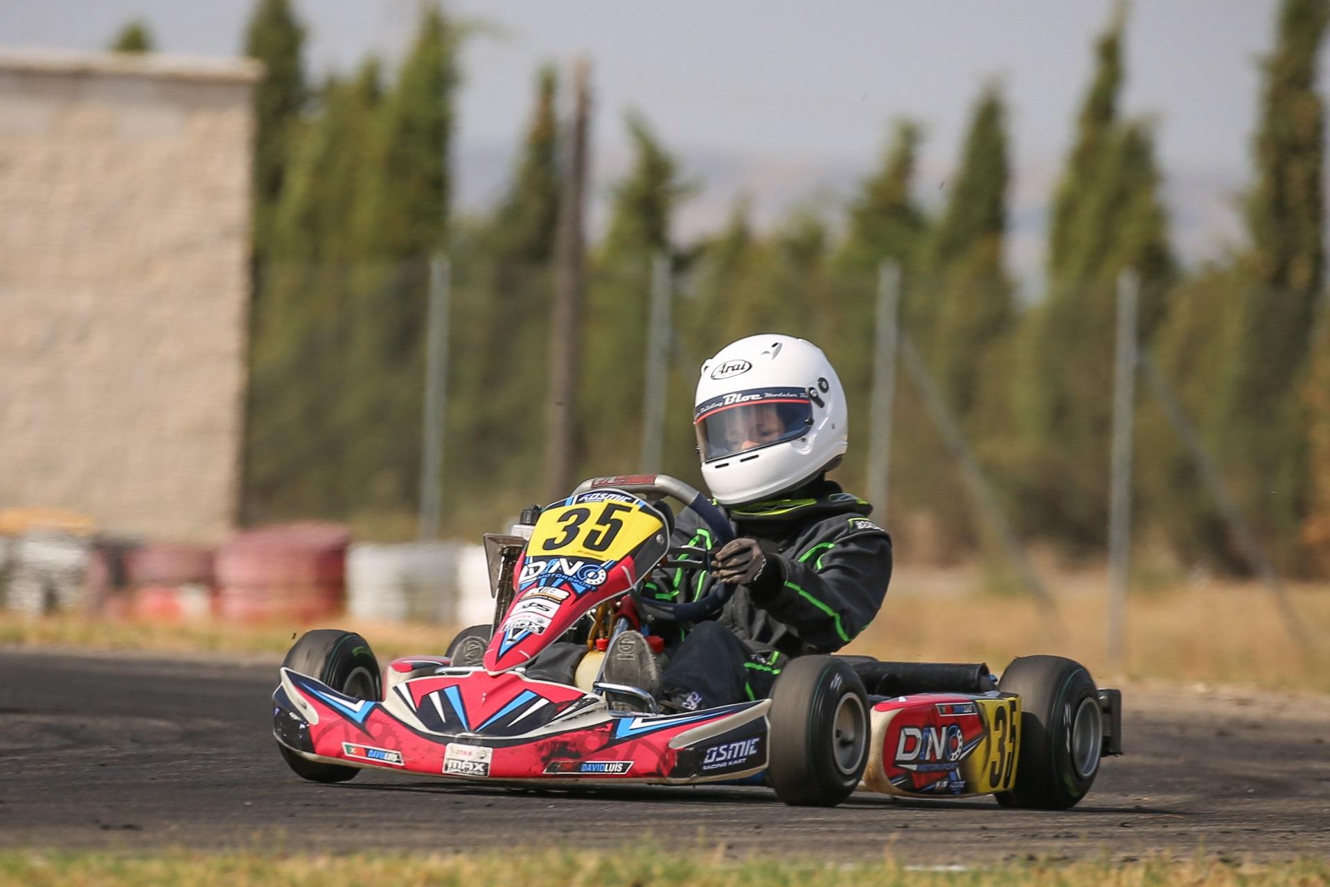 João Maria Pereira 7.º e David Luís 9.º na Copa Rotax Academy