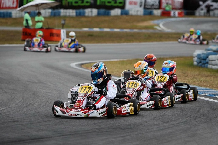 José Barros vai arrancar da 11ª posição na Final do Mundial Rotax Mini-Max