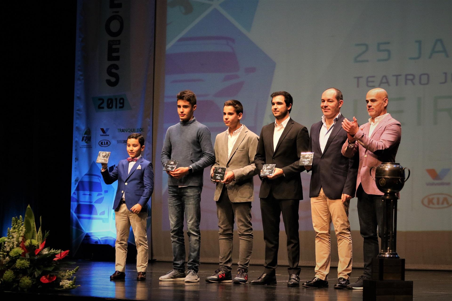 Vencedores do Troféu Rotax 2019 premiados na Gala da FPAK em Leiria
