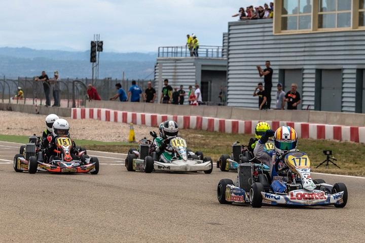 Adrián Malheiro conserva liderança nas Series Rotax Espanha da Mini-Max