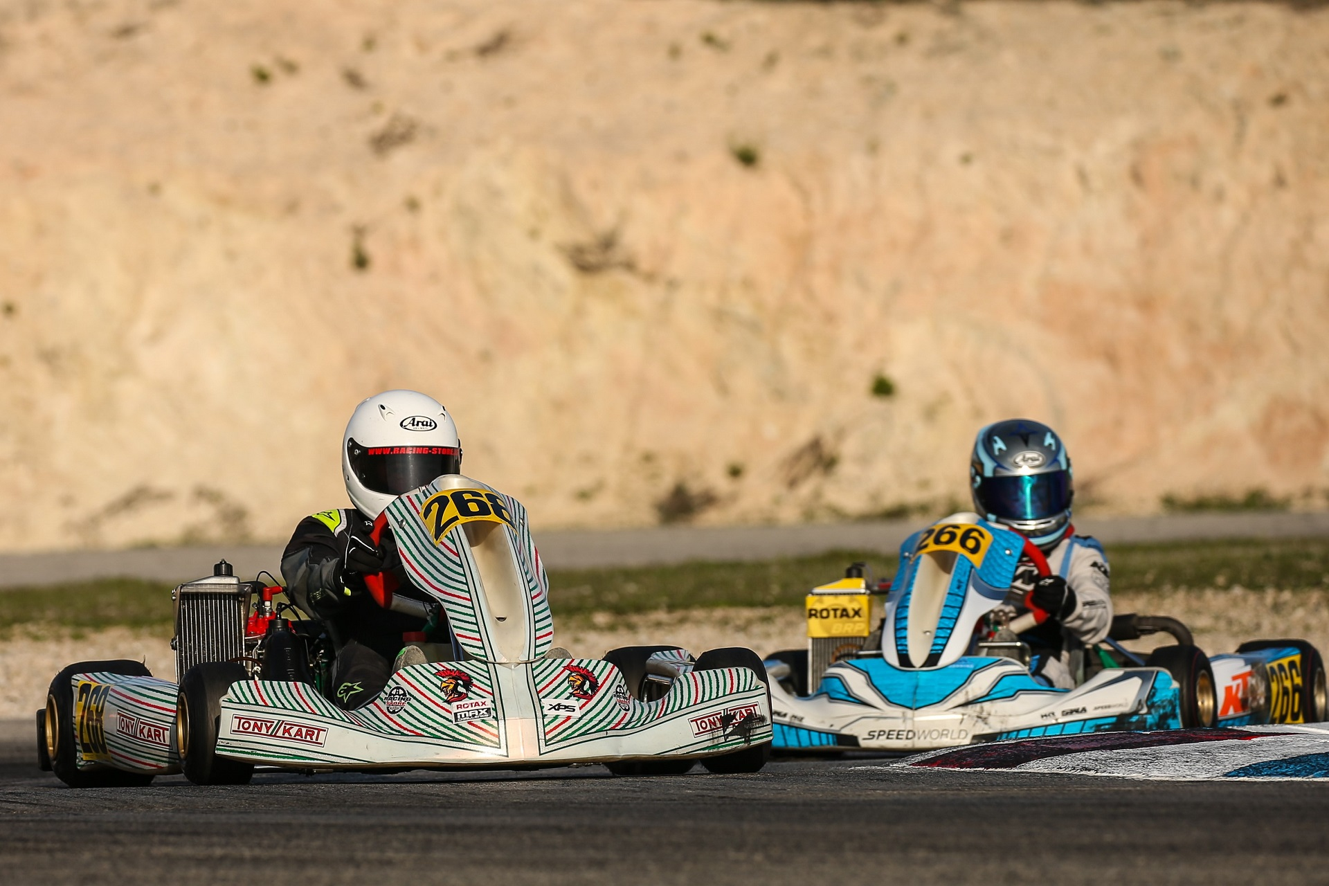 Pernía foi 23.º classificado e Dinis prosseguiu evolução na Rotax Winter Cup Júnior