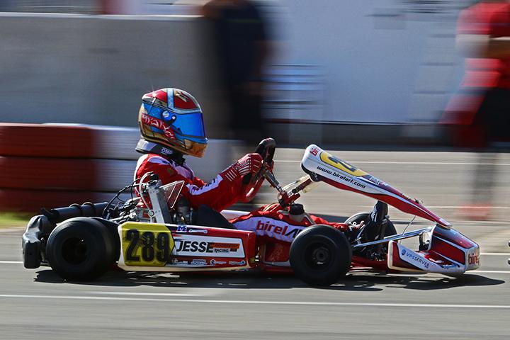 Jesse Doorgeest garante pódio em Valência nas Series Rotax Espanha
