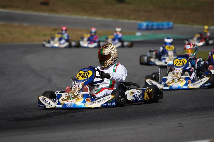Guilherme de Oliveira vai partir do 21.º lugar na Final do Mundial Rotax Júnior