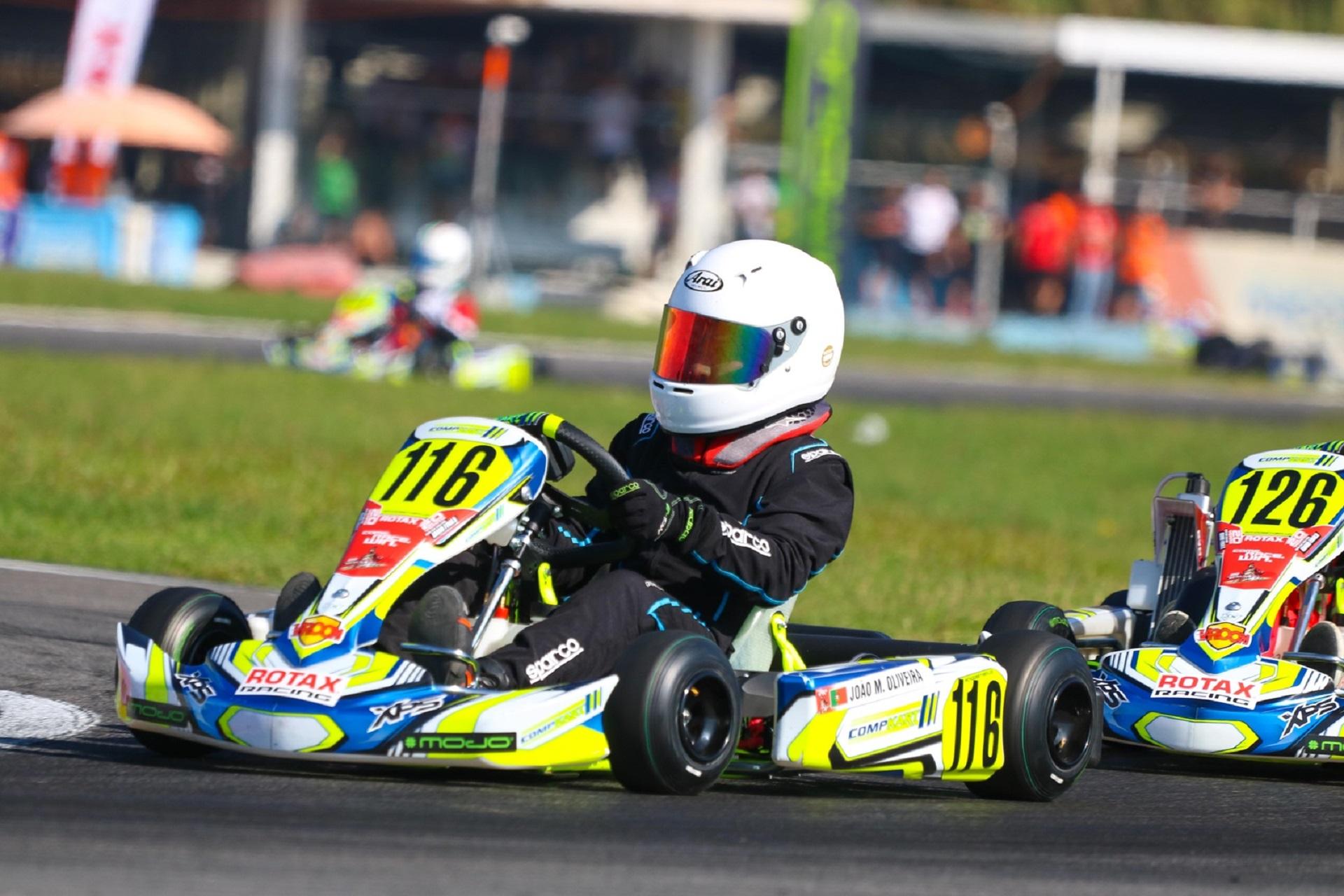 João Miguel Oliveira 22.º classificado na Final do Mundial Rotax Mini-Max