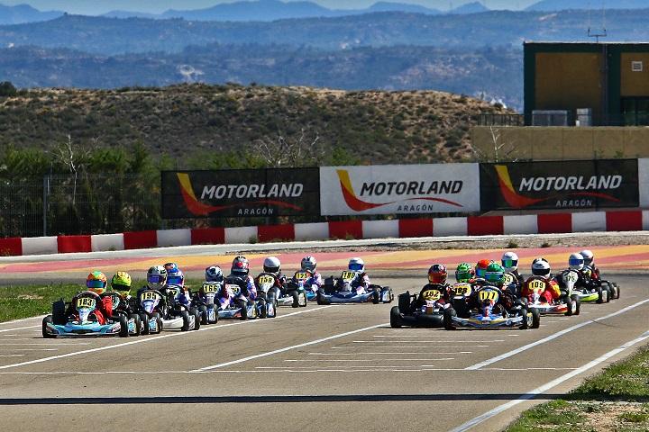 Tomás Ribeiro e José Barros perto do top-10 nas Series Rotax Espanha na Mini-Max