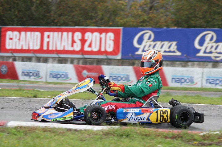 RMCGF: Mariano Pires afastado da Final da categoria Júnior por quatro posições