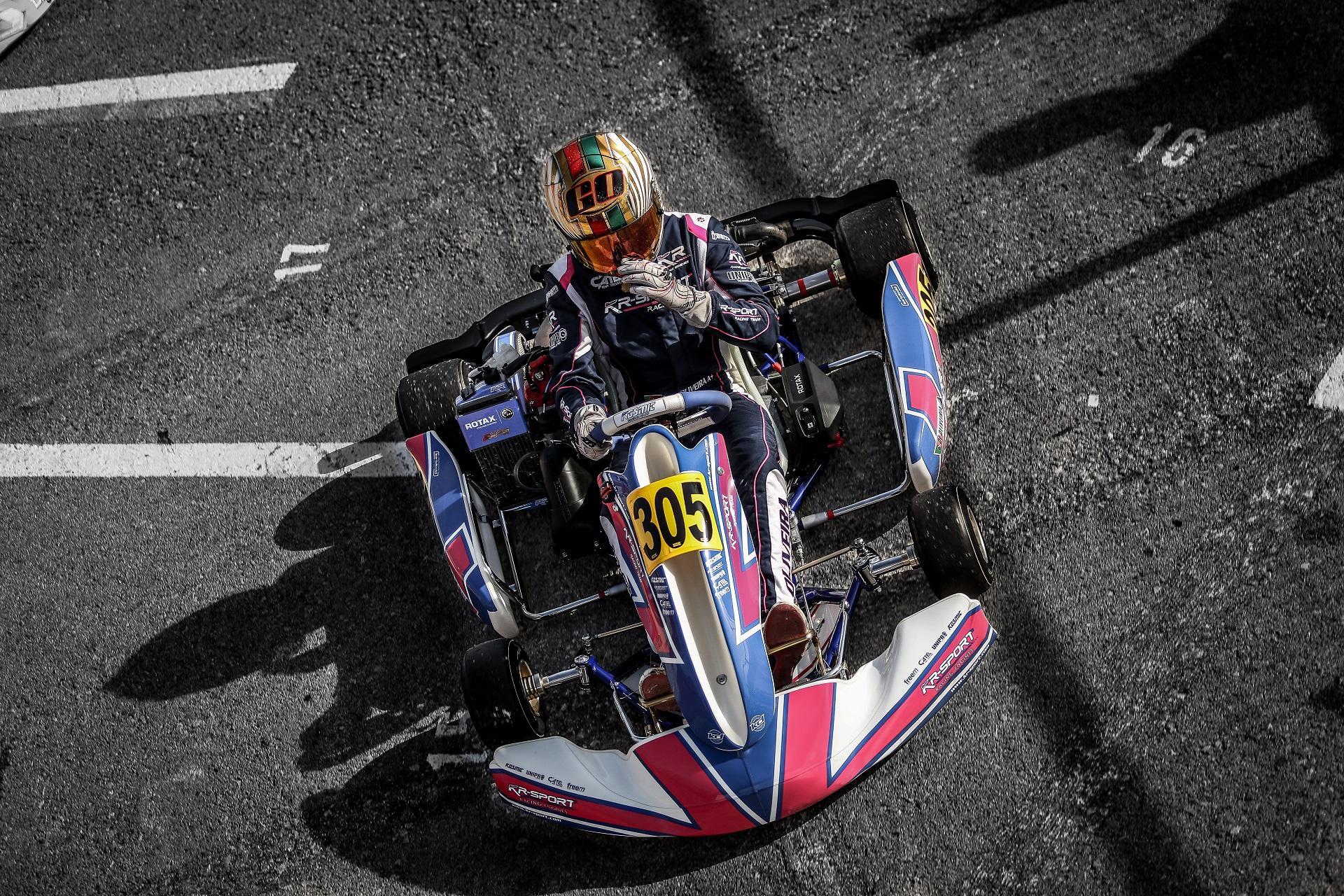 Guilherme de Oliveira a 0,051s da pole-position na Rotax Winter Cup Sénior Max
