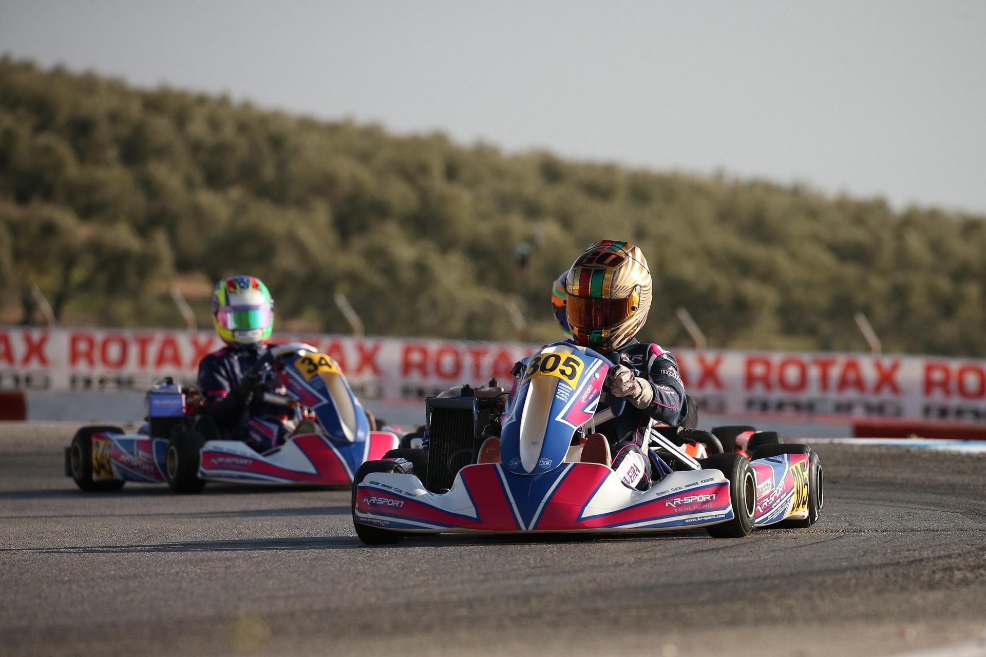 Guilherme de Oliveira inglório nas duas Finais da Rotax Winter Cup Sénior Max