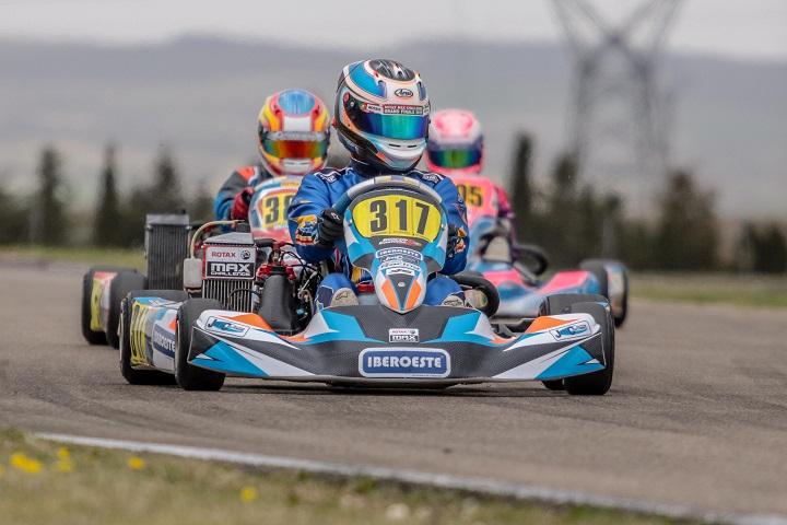 Gonçalo Coutinho 8.º classificado no arranque das Series Rotax Espanha Sénior