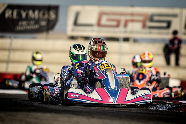 Guilherme de Oliveira a 0,364s da pole-position na classe Sénior da Winter Cup 2019