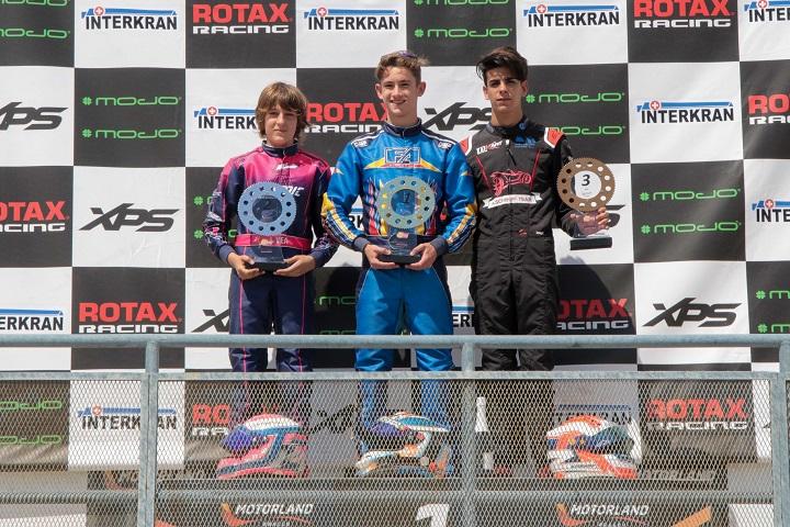 Gonçalo Coutinho vence em Motorland para Series Rotax Espanha na Sénior