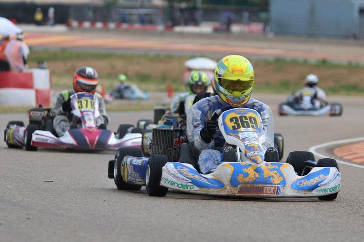 Alexandre Areia 6º e Gonçalo Coutinho 9º nas Series Rotax Espanha em Alcañiz