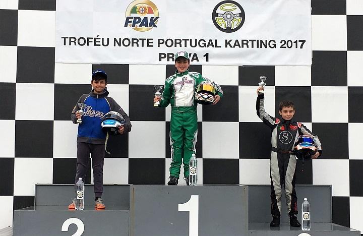 Afonso Ferreira triunfa na abertura do Troféu Norte Portugal da Mini-Max