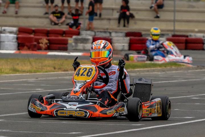 Mariano Pires reforça liderança na categoria DD2 das Series Rotax Espanha