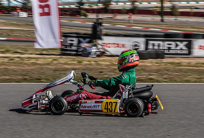 Pedro Pinto 6º com volta mais rápida na categoria DD2 do 'Mundial Rotax'