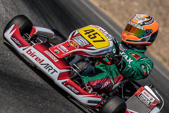 Mariano Pires 10º na categoria DD2 do 'Mundial Rotax' em Portimão