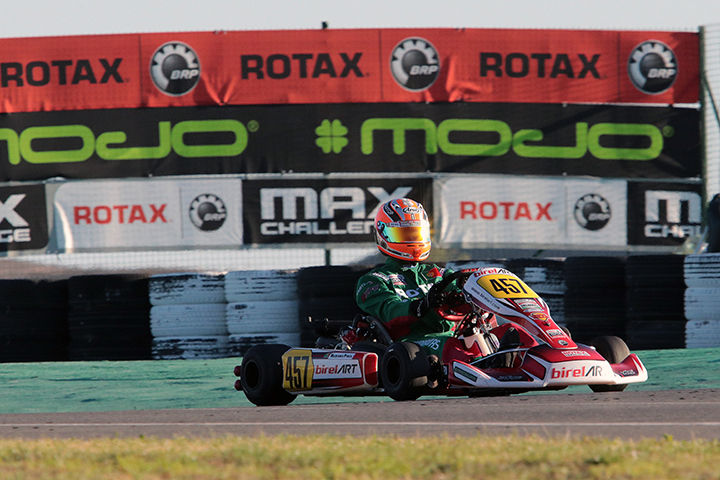 Mariano Pires 16º classificado na Final do Mundial Rotax da categoria DD2
