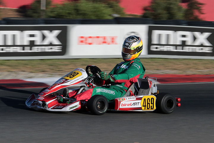 Bruno Borlido forçado a abandonar na Final do Mundial Rotax da categoria DD2