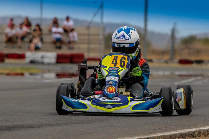 Pedro Moura vence e conserva liderança nas Series Rotax Espanha Academy
