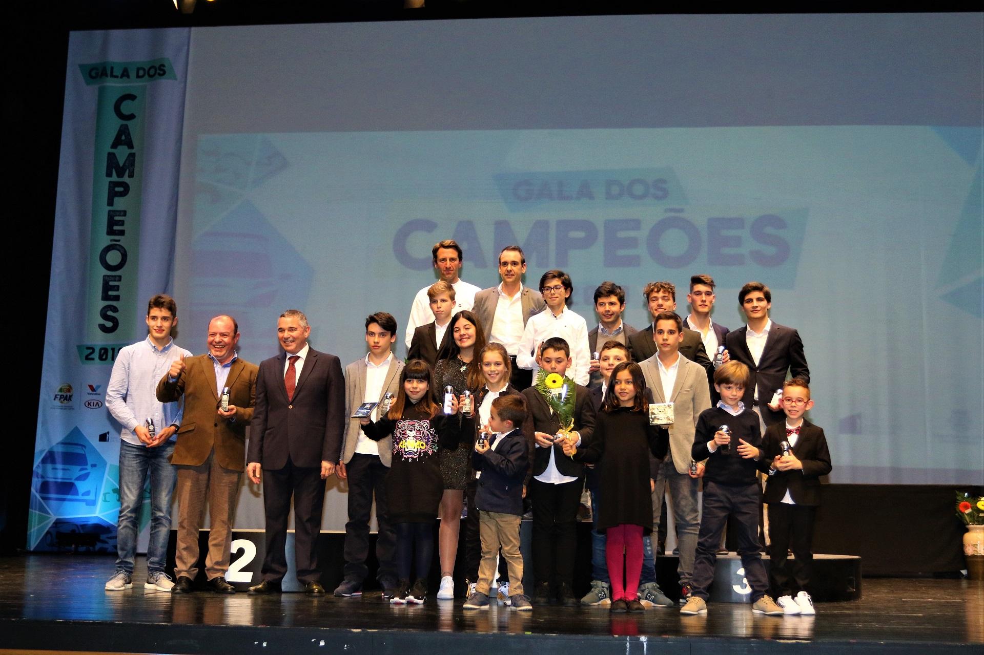 Campeões de Portugal de Karting 2019 foram premiados em Leiria