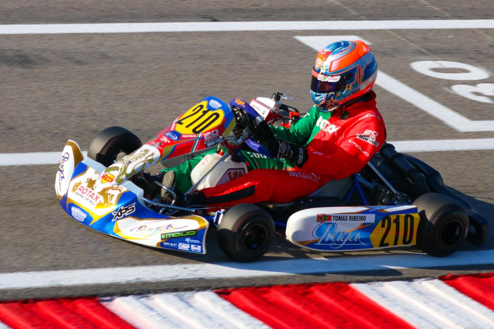 Tomás Ribeiro vai largar do 27.ª lugar na Pré-Final B do Mundial Rotax Júnior em Itália