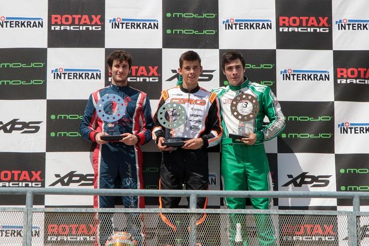 Mariano Pires passa para o comando da categoria DD2 das Series Rotax Espanha