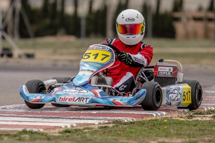 Rui Pereira vence categoria DD2 Master na abertura das Series Rotax Espanha