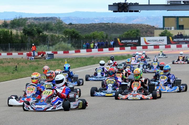 Bruno Borlido é o novo líder das Series Rotax Espanha da categoria DD2