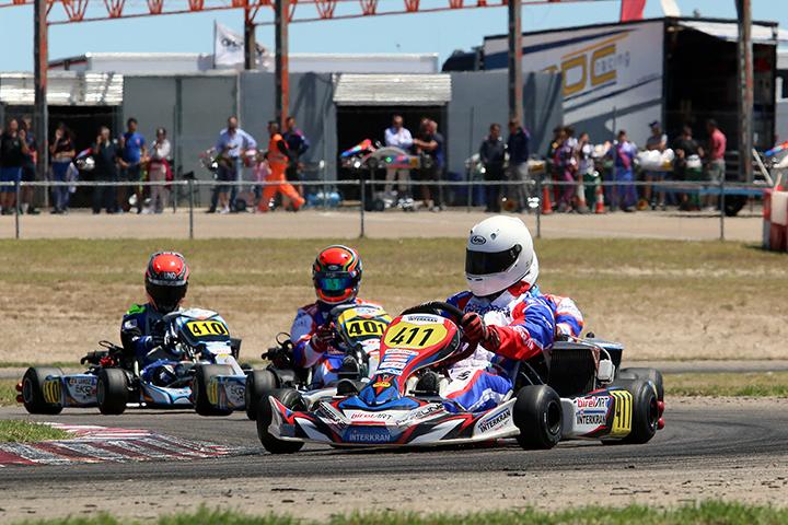Bruno Borlido reforça liderança na categoria DD2 das Series Rotax Espanha