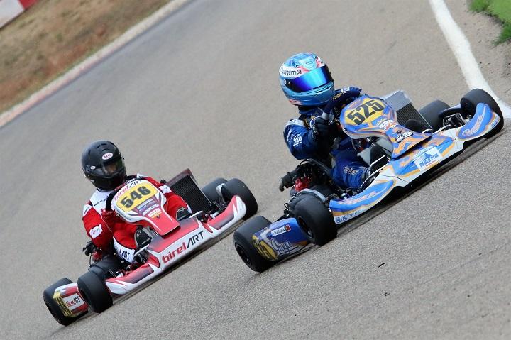 António Bravo Lima a 3 pontos de um lugar no pódio nas Series Rotax Espanha