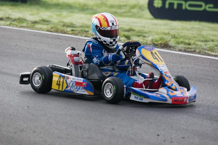 Adrian Malheiro é um dos favoritos a vencer o 'Mundial Rotax' na categoria Micro-Max
