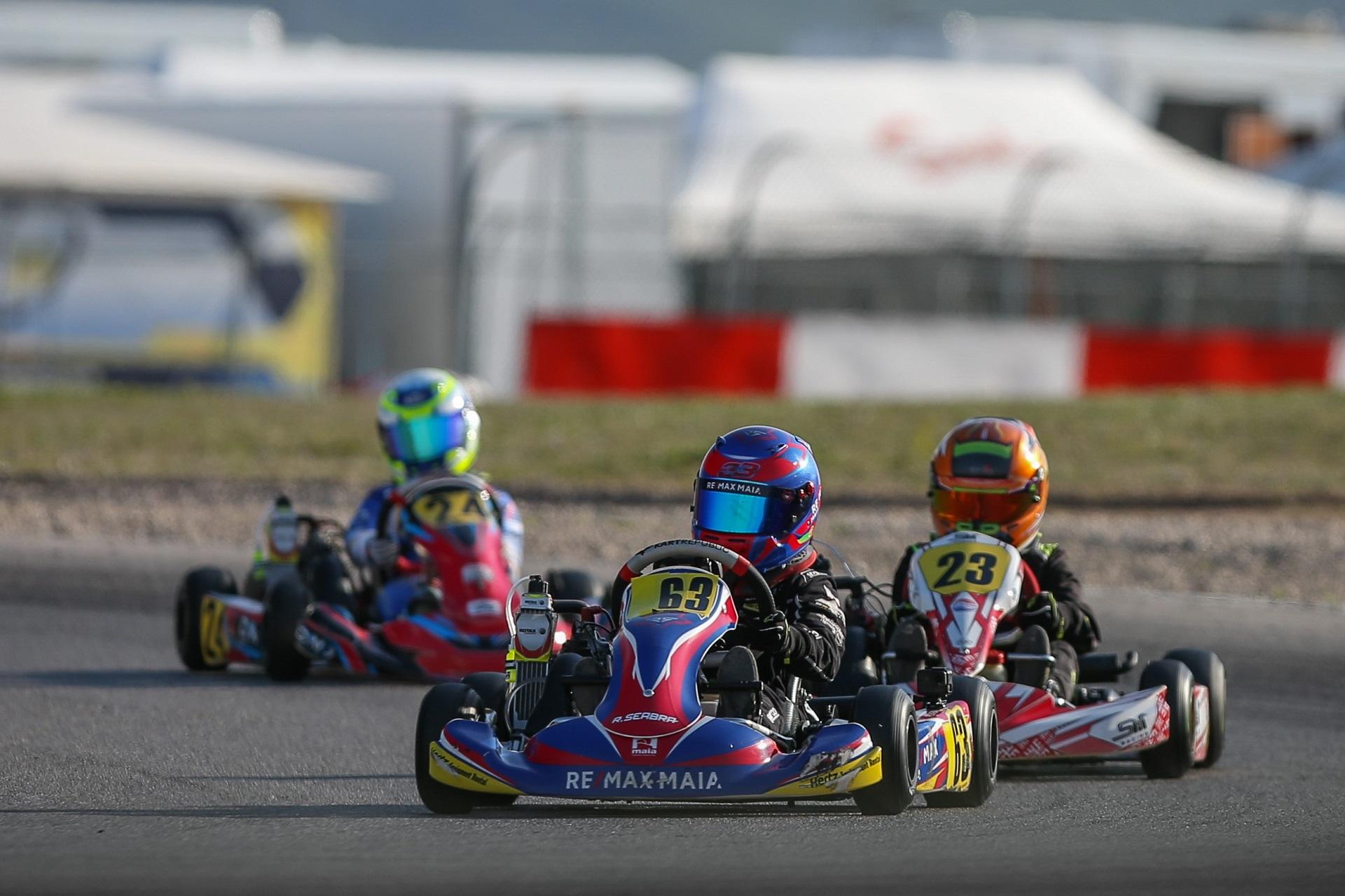 Seabra 15.º, Campos 16.º e Barros 22.º na Rotax Winter Cup da categoria Micro-Max