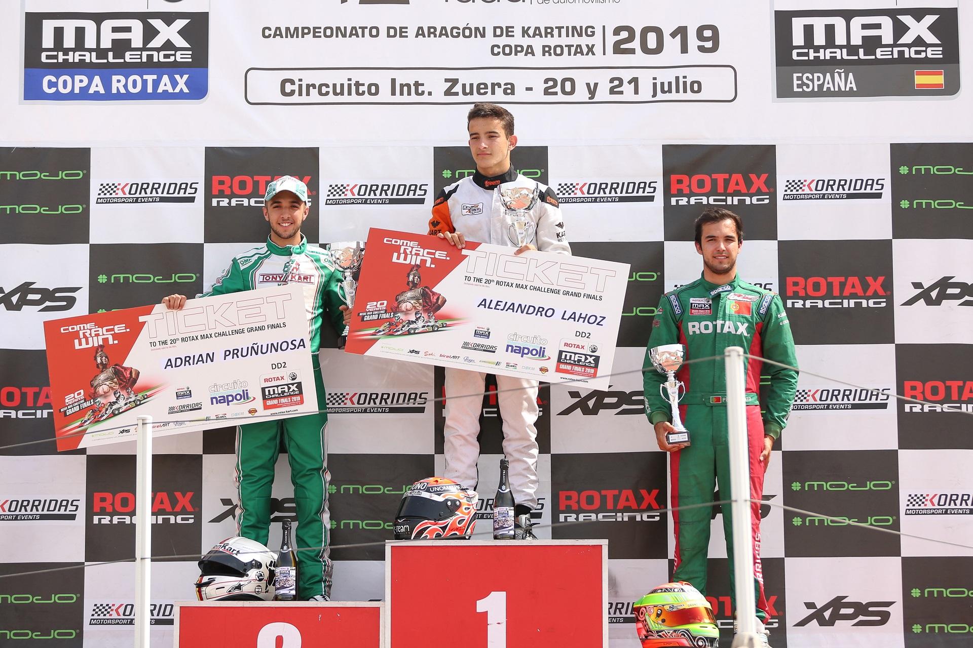 Pedro Pinto garante terceiro lugar na Copa Rotax DD2