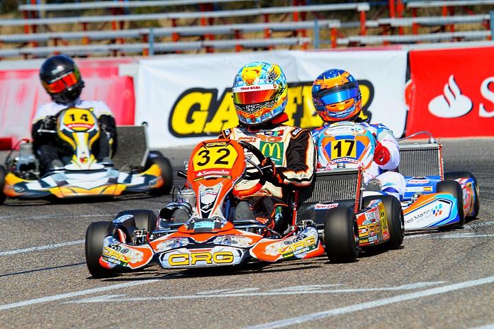 Yohan Sousa estreia-se na Sénior-KZ2 com dois 6ºs lugares em Espanha