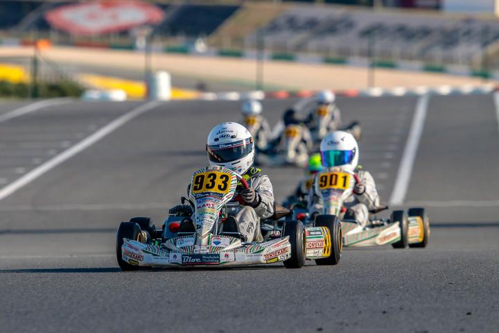 Pedro Barbosa e António Silva consagrados na Kart Kid Race School