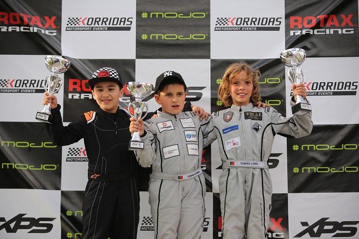 Tomás Gomes repete vitória no Troféu Rotax Micro-Academy em Palmela