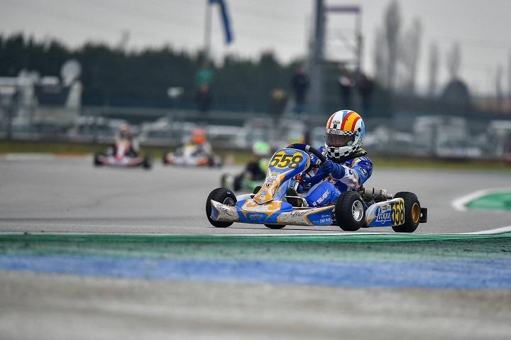 Adrián Malheiro 14.º classificado em Itália entre 86 concorrentes da 'Mini 60' no WSK