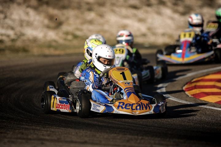 Adrián Malheiro vai largar do 14.º posto na Final 1 do CEK da categoria Cadete