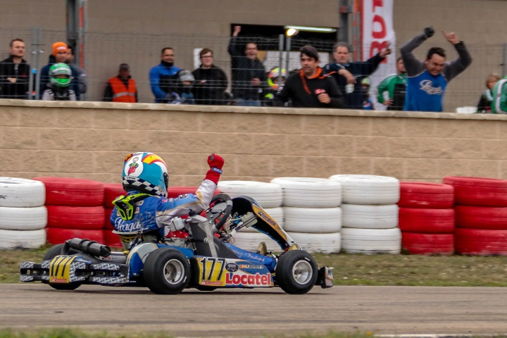 Malheiro vence e Barros foi 2.º na abertura das Series Rotax Espanha Mini-Max
