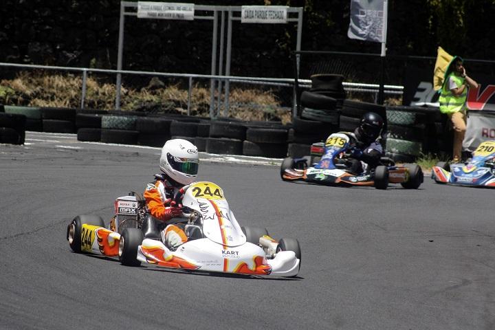 António Santos impõe-se na categoria Júnior do Troféu de Karting da Madeira